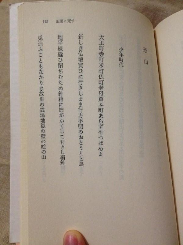 寺山修司青春歌集(角川文庫) (4)
