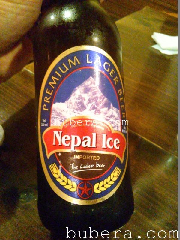 ネパールのビール ネパールアイス