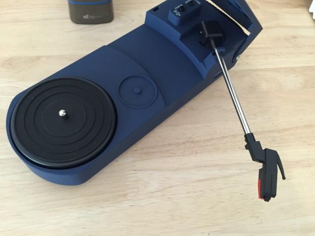 レボリューション・ポータブル・ターンテーブル ブルー CR6020A-BL (8)