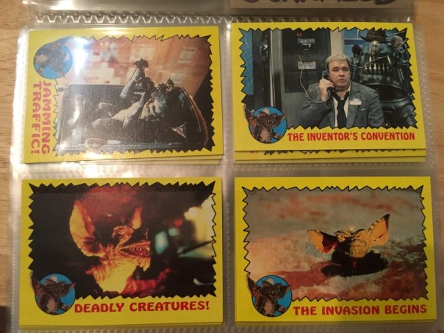 A topps Picture Card Series - Gremlins 82 Cards 11 Stickers (12)