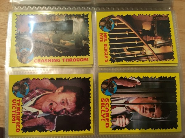 A topps Picture Card Series - Gremlins 82 Cards 11 Stickers (13)