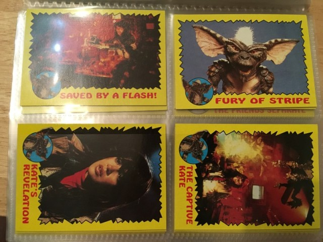 A topps Picture Card Series - Gremlins 82 Cards 11 Stickers (15)