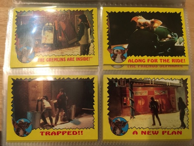 A topps Picture Card Series - Gremlins 82 Cards 11 Stickers (16)