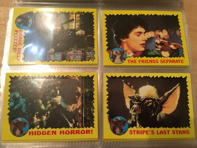 A topps Picture Card Series - Gremlins 82 Cards 11 Stickers (18)