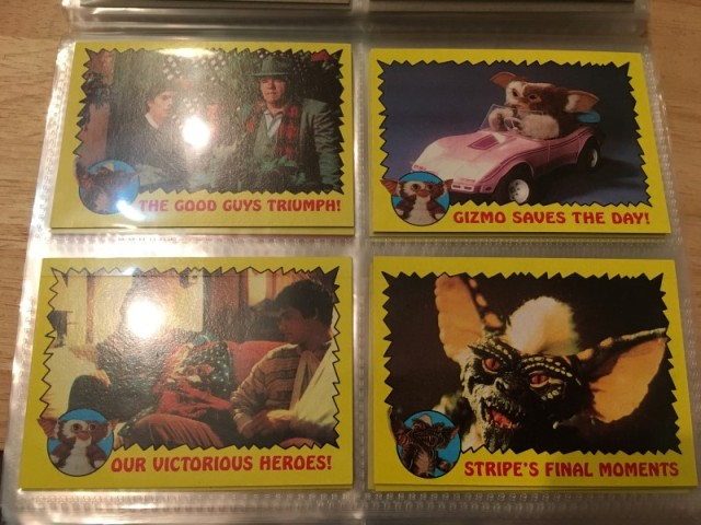 A topps Picture Card Series - Gremlins 82 Cards 11 Stickers (19)