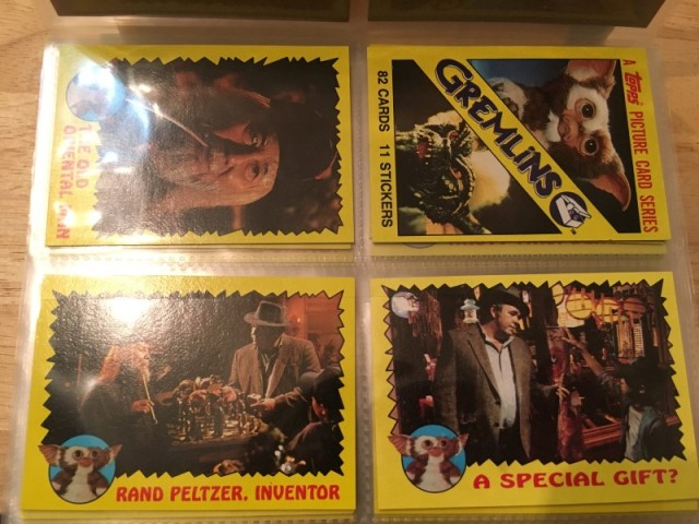 A topps Picture Card Series - Gremlins 82 Cards 11 Stickers (2)