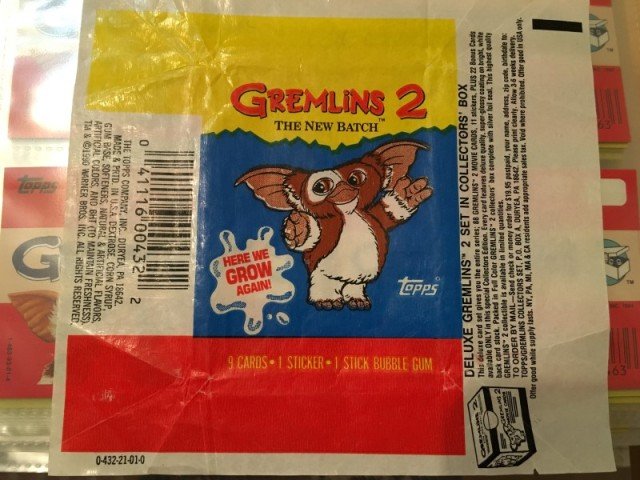 A topps Picture Card Series - Gremlins 82 Cards 11 Stickers (25)