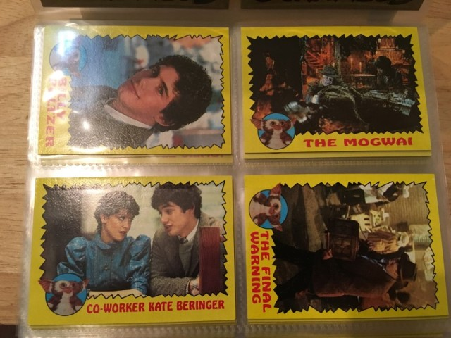 A topps Picture Card Series - Gremlins 82 Cards 11 Stickers (3)