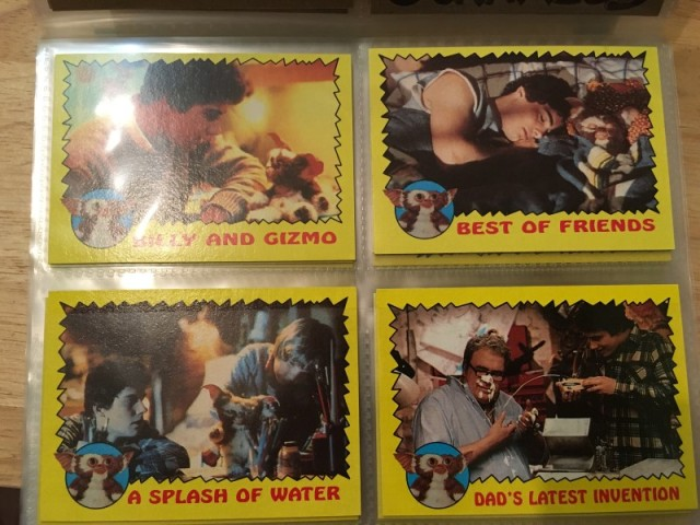 A topps Picture Card Series - Gremlins 82 Cards 11 Stickers (6)