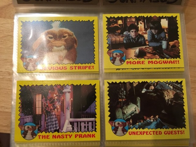 A topps Picture Card Series - Gremlins 82 Cards 11 Stickers (7)