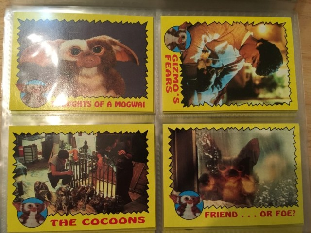 A topps Picture Card Series - Gremlins 82 Cards 11 Stickers (8)