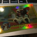 TOPPS 75th Anniversary 1984 Gremlins #84 Foil ver.