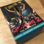 グレムリン トレーディングカード シリーズ2 箱とかパッケージとかポスター