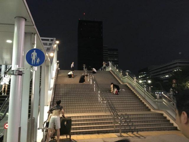 20160625 影の劇場-door to a theater-@新宿駅 東南口前 (2)