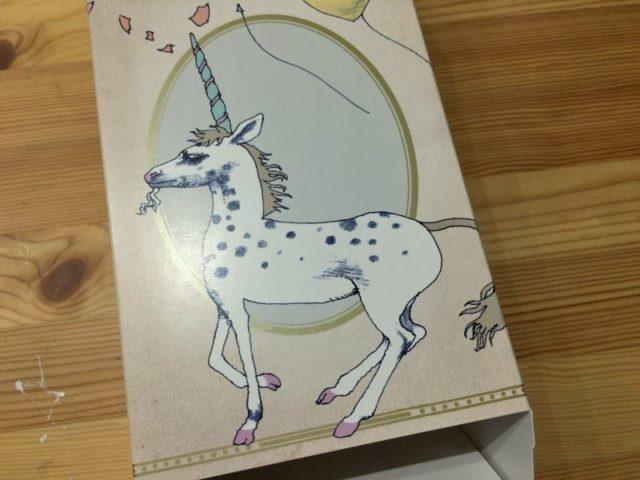 宇野亜喜良書き下ろしオリジナルギフトボックス マジョリ画 (馬)