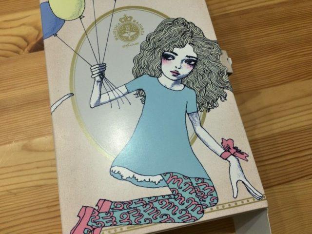 宇野亜喜良書き下ろしオリジナルギフトボックス マジョリ画 (表)
