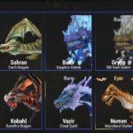 War Dragonsのドラゴン一覧(青)