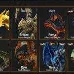 War Dragonsのドラゴン一覧(オレンジ)