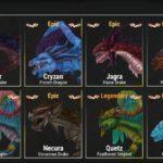 War Dragonsのドラゴン一覧(プラチナ)