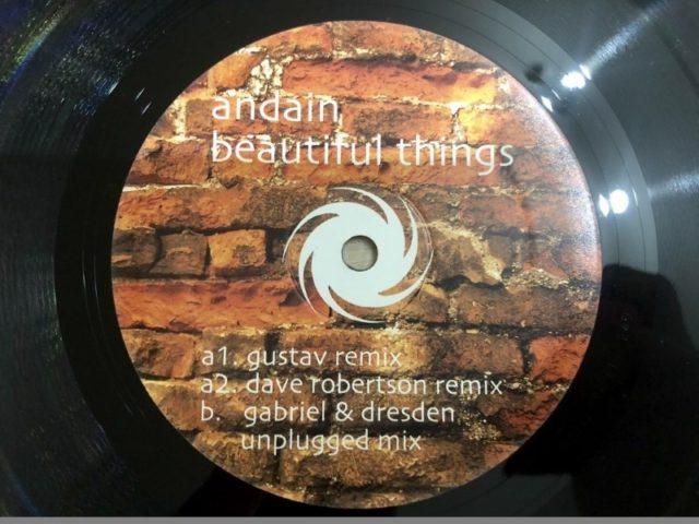 Andain - Beautiful Things (Black Hole Recordings) (Vinyl) 2009 (1)