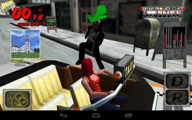 クレイジータクシー (Android版) (3)
