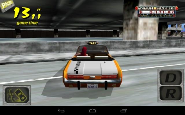 クレイジータクシー (Android版) (2)