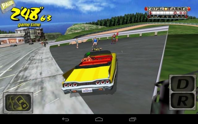クレイジータクシー (Android版) (8)