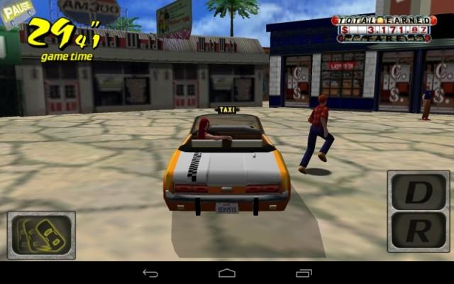 クレイジータクシー (Android版) (1)