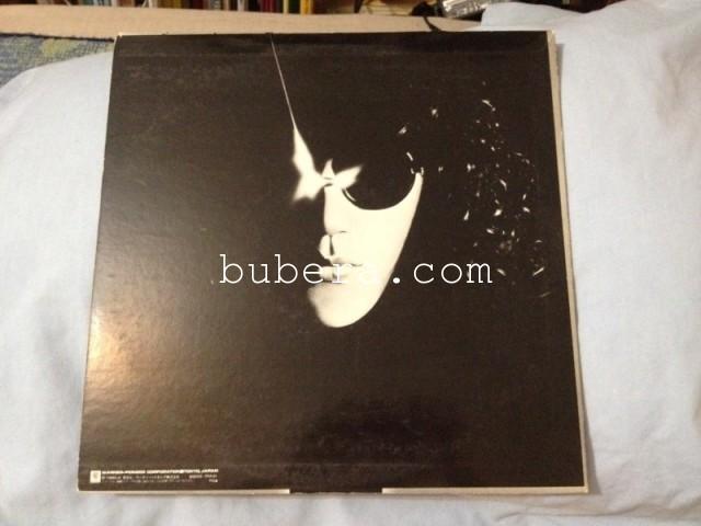 森田童子 マザー・スカイ LP ワーナー 1980年 (2)