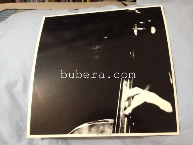 森田童子 マザー・スカイ LP ワーナー 1980年 (9)