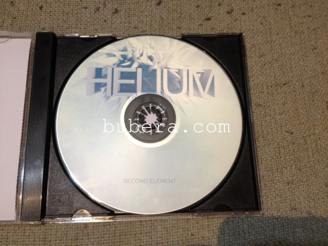 Second Element - Helium (2013) CD