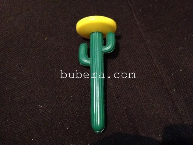 サボテンのボールペン