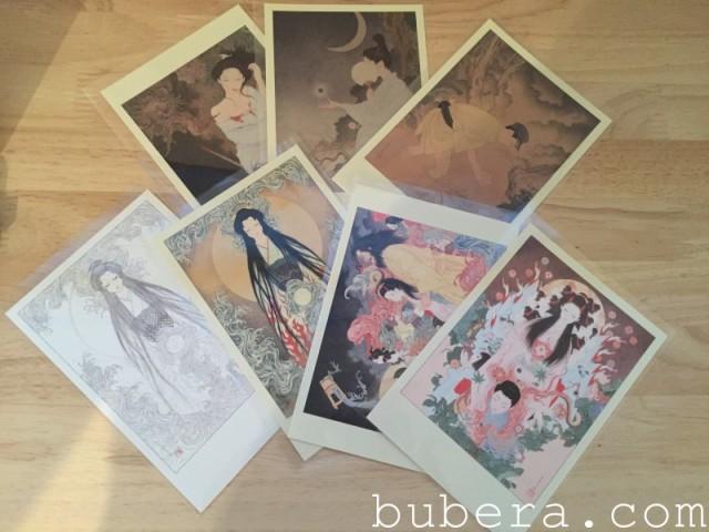 泉鏡花 – 草迷宮 通常版  画 山本タカト にほひ袋付 (3)