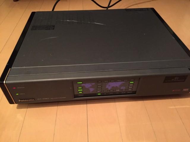 Panasonic AG-W1 VHS VCR (2)