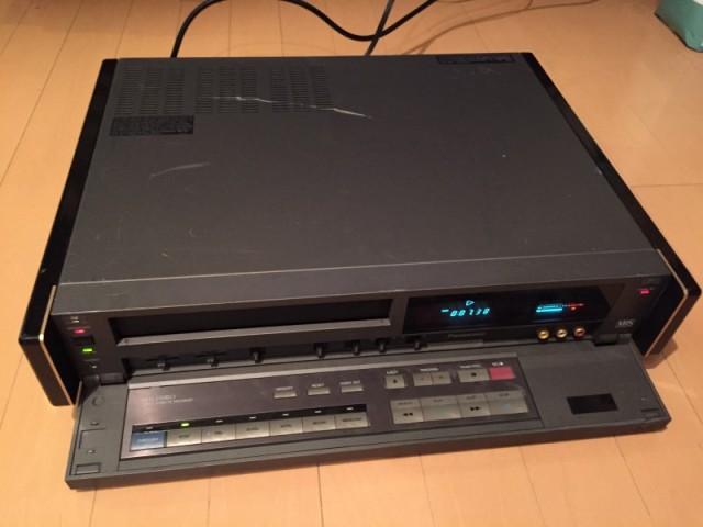 Panasonic AG-W1 VHS VCR (3)