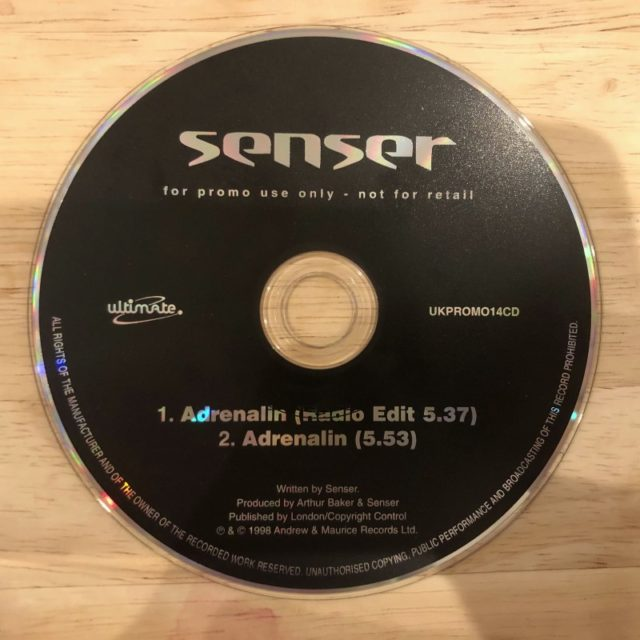 Senser - Adrenalin (Promo CD) (1998)