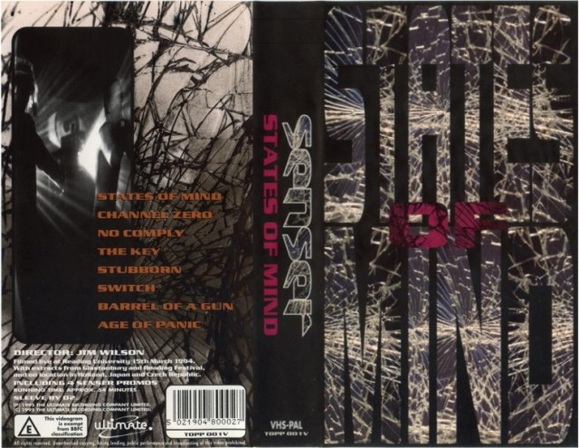 Senser - States Of Mind (Ultimate Records) (VHS) (1995)