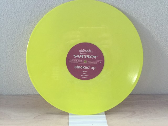 Senser - Stacked Up (Yellow Disc) (Ultimate Records) 1994 (7)