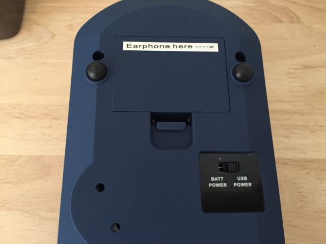 レボリューション・ポータブル・ターンテーブル ブルー CR6020A-BL (5)
