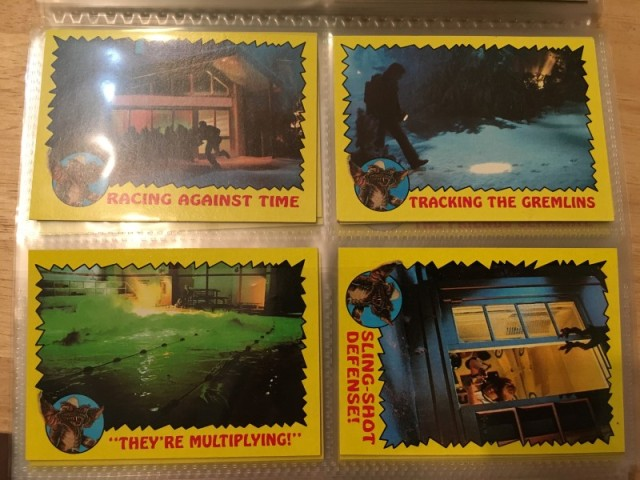 A topps Picture Card Series - Gremlins 82 Cards 11 Stickers (14)
