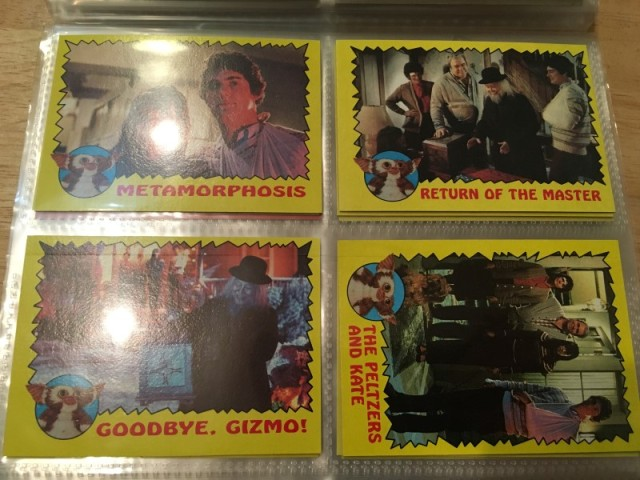 A topps Picture Card Series - Gremlins 82 Cards 11 Stickers (20)