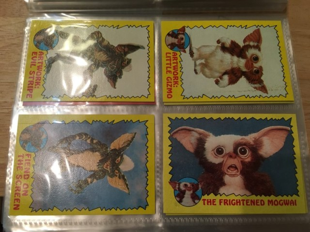 A topps Picture Card Series - Gremlins 82 Cards 11 Stickers (21)