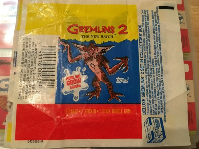A topps Picture Card Series - Gremlins 82 Cards 11 Stickers (24)