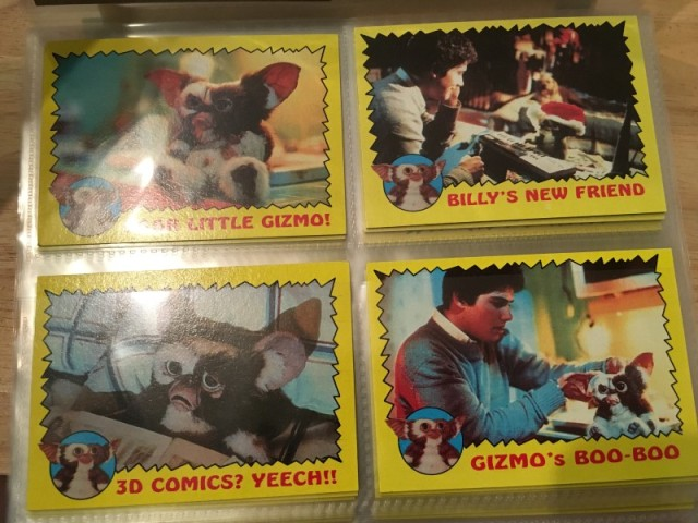 A topps Picture Card Series - Gremlins 82 Cards 11 Stickers (5)