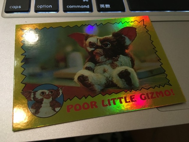 TOPPS 75th Anniversary 1984 Gremlins #84 Foil ver. (1)