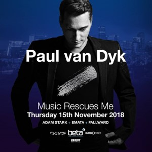 Adam Stark 2018-11-15 @ The Tribute Mix Feat. Paul Van Dyk