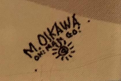 M.OIKAWA サイン
